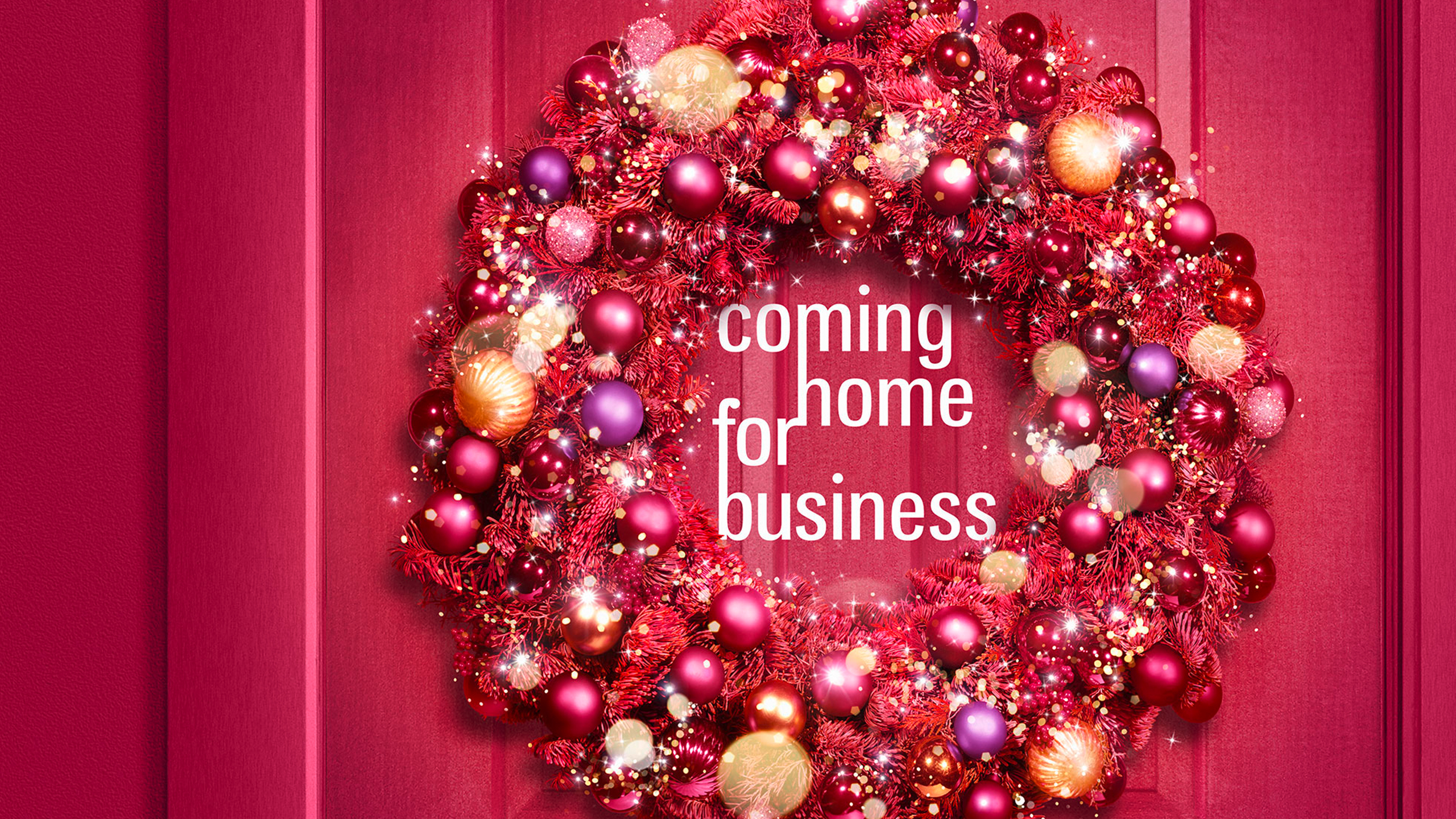 Christmasworld Keyvisual: Coming home for business