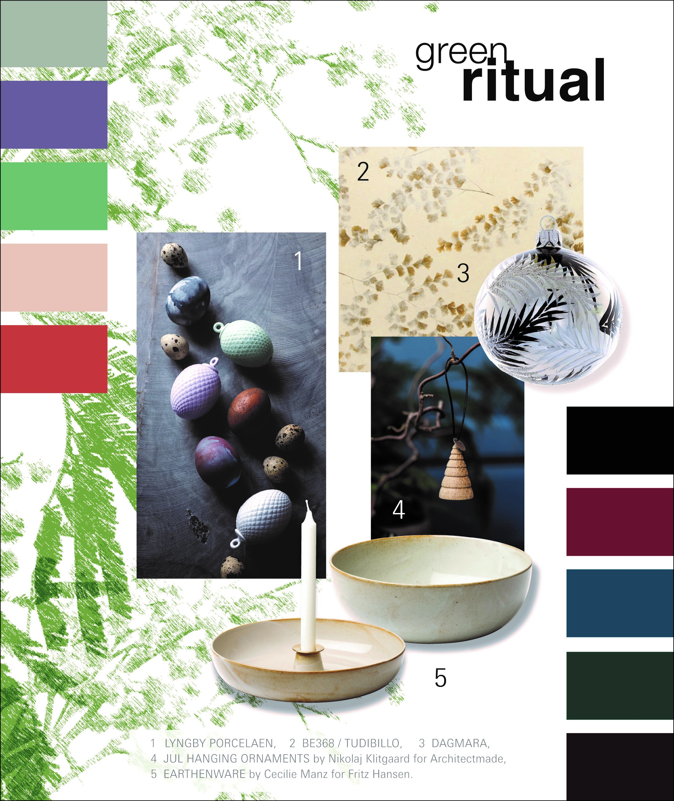 Christmasworld Trend 2020/21: green ritual