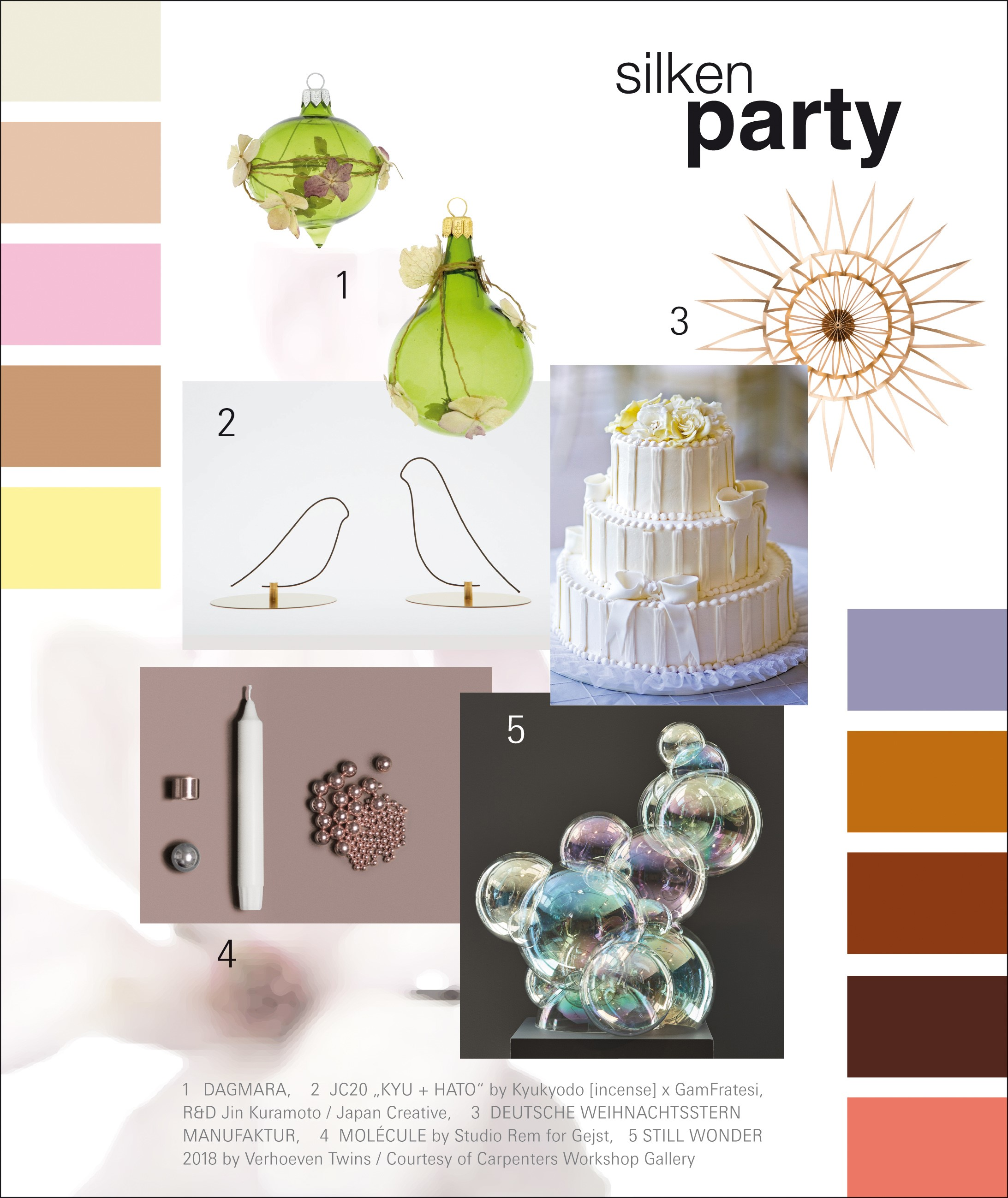 Christmasworld Trend 2020/21: silken party