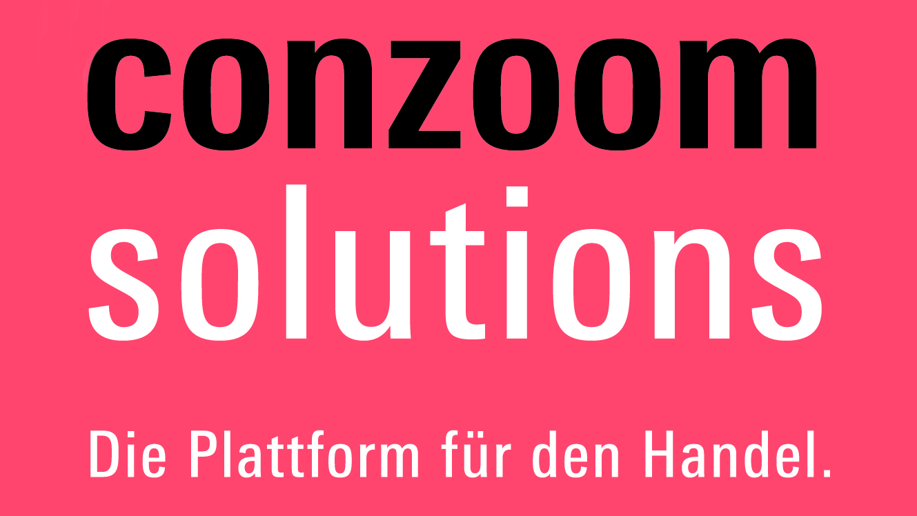 Logo of Conzoom Solutions – The platform for retailers, www.conzoom.solutions