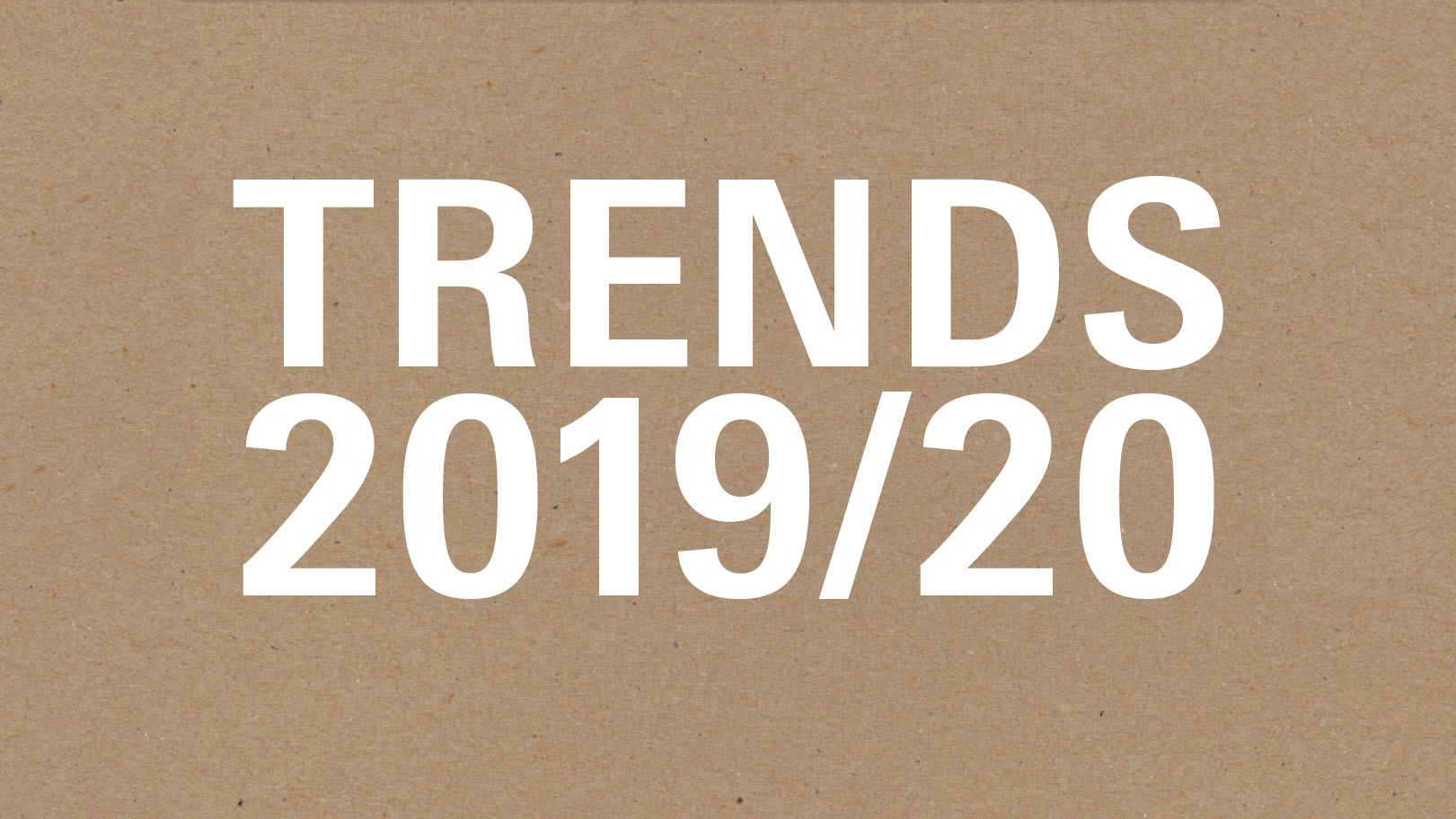 Paperworld Trends 2019/20 cover