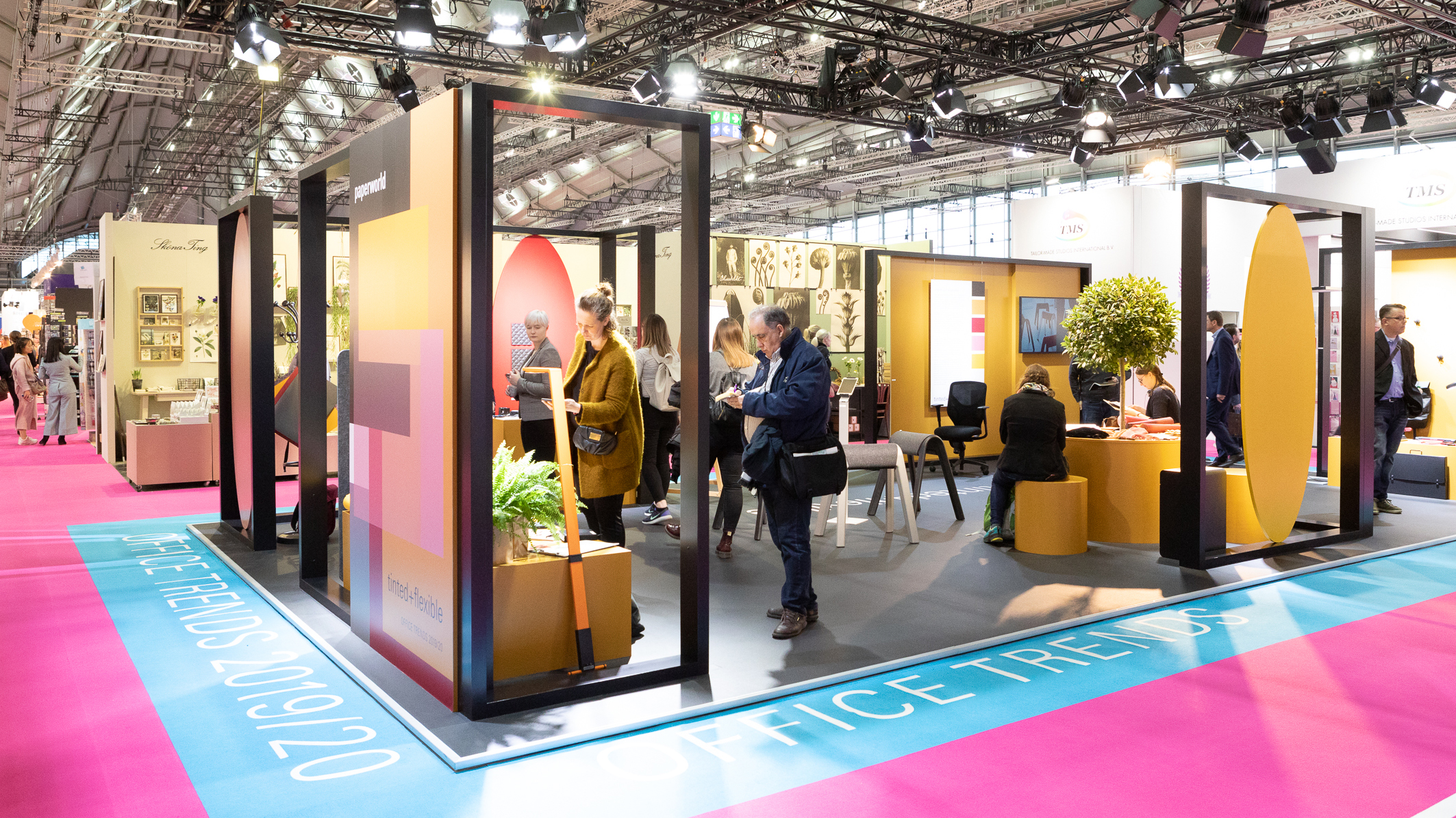 Exhibition of the Paperworld Trends 2019