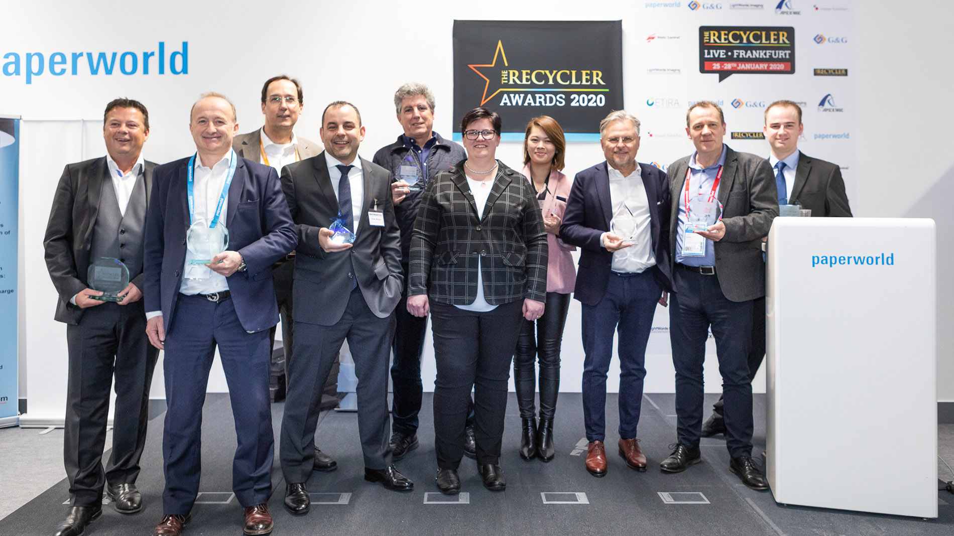 Winners of the Recycler Award 2020