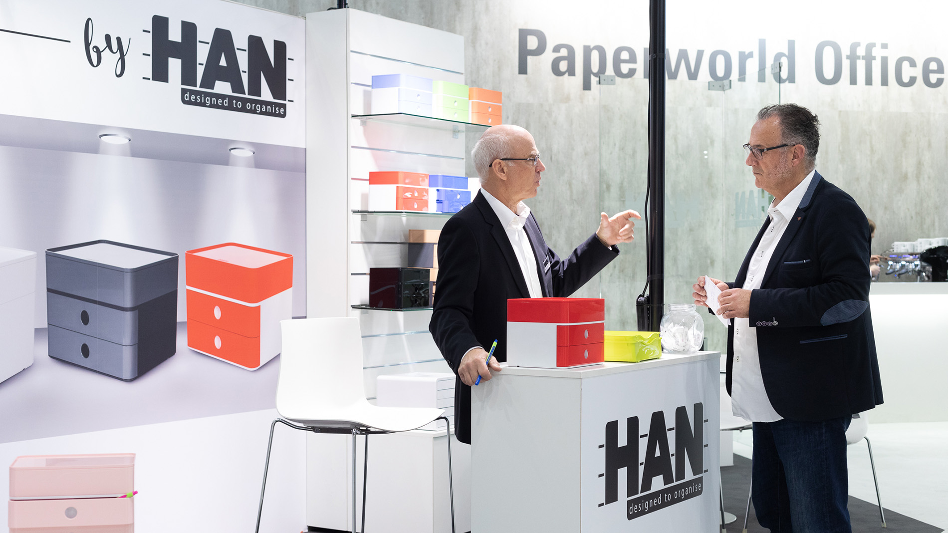 Paperworld Office Village mit HAN als Aussteller
