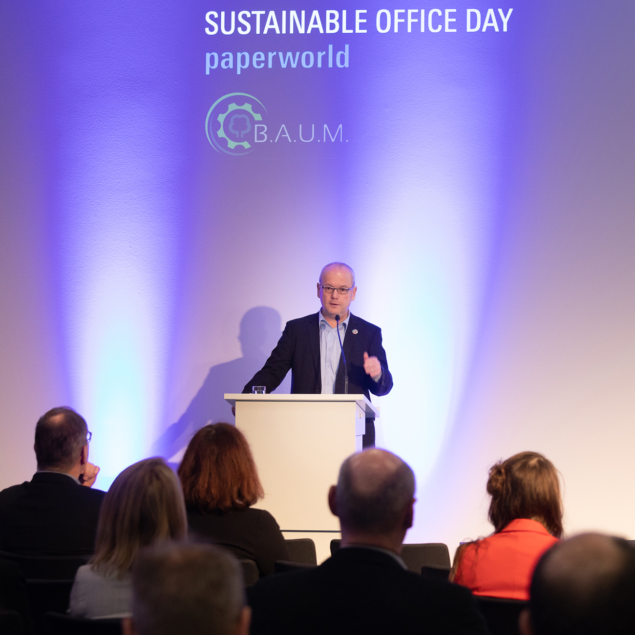 Vortrag auf dem Sustainable Office Day der Paperworld