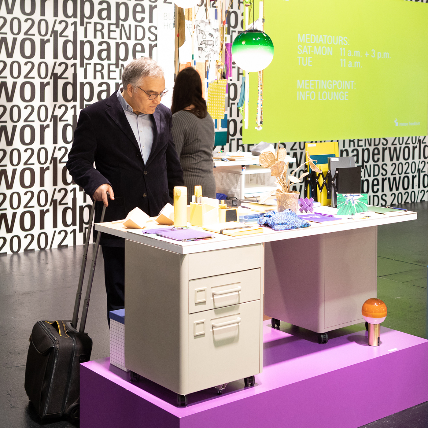 visitor is looking at the latest Paperworld Trends
