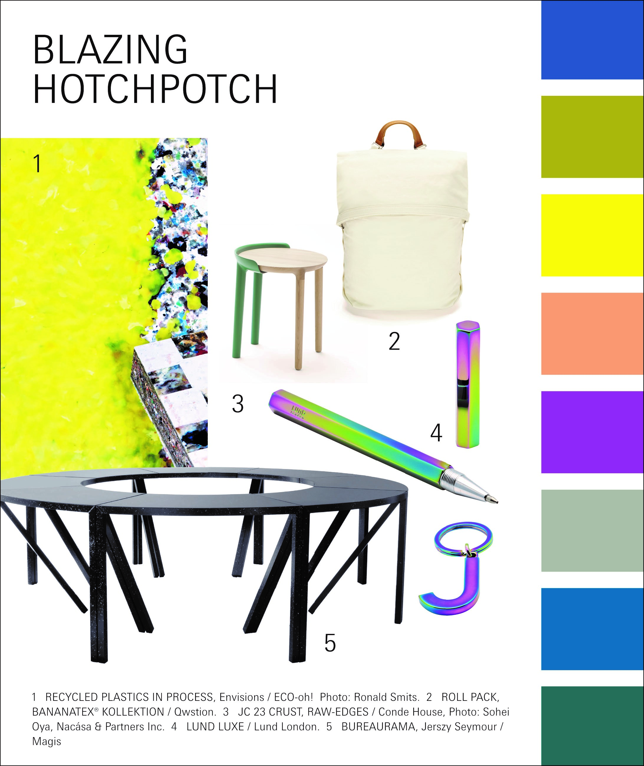 Paperworld Trend 2020/21: Blazing Hotchpotch