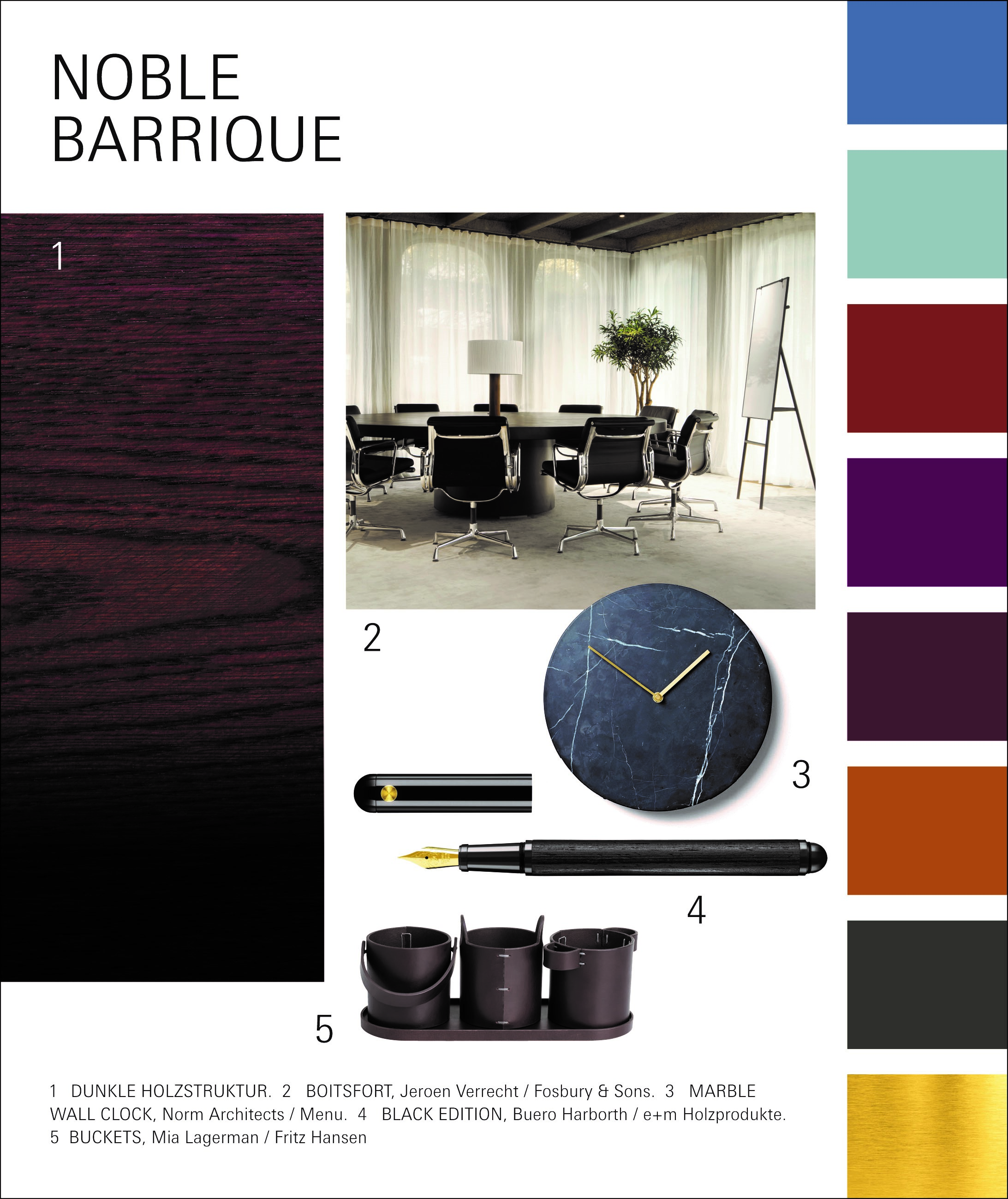 Paperworld Trend 2020/21: Noble Barrique