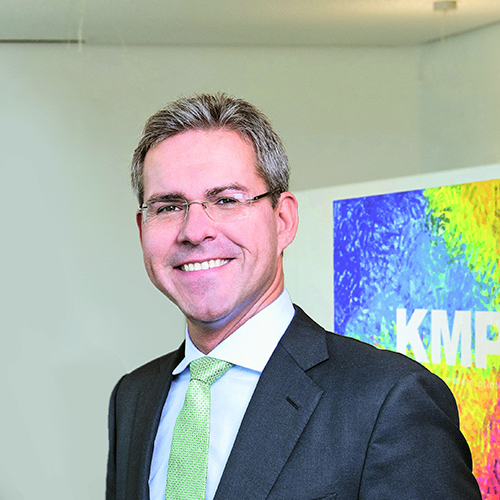 Jan-Michael Sieg, CEO KMP AG